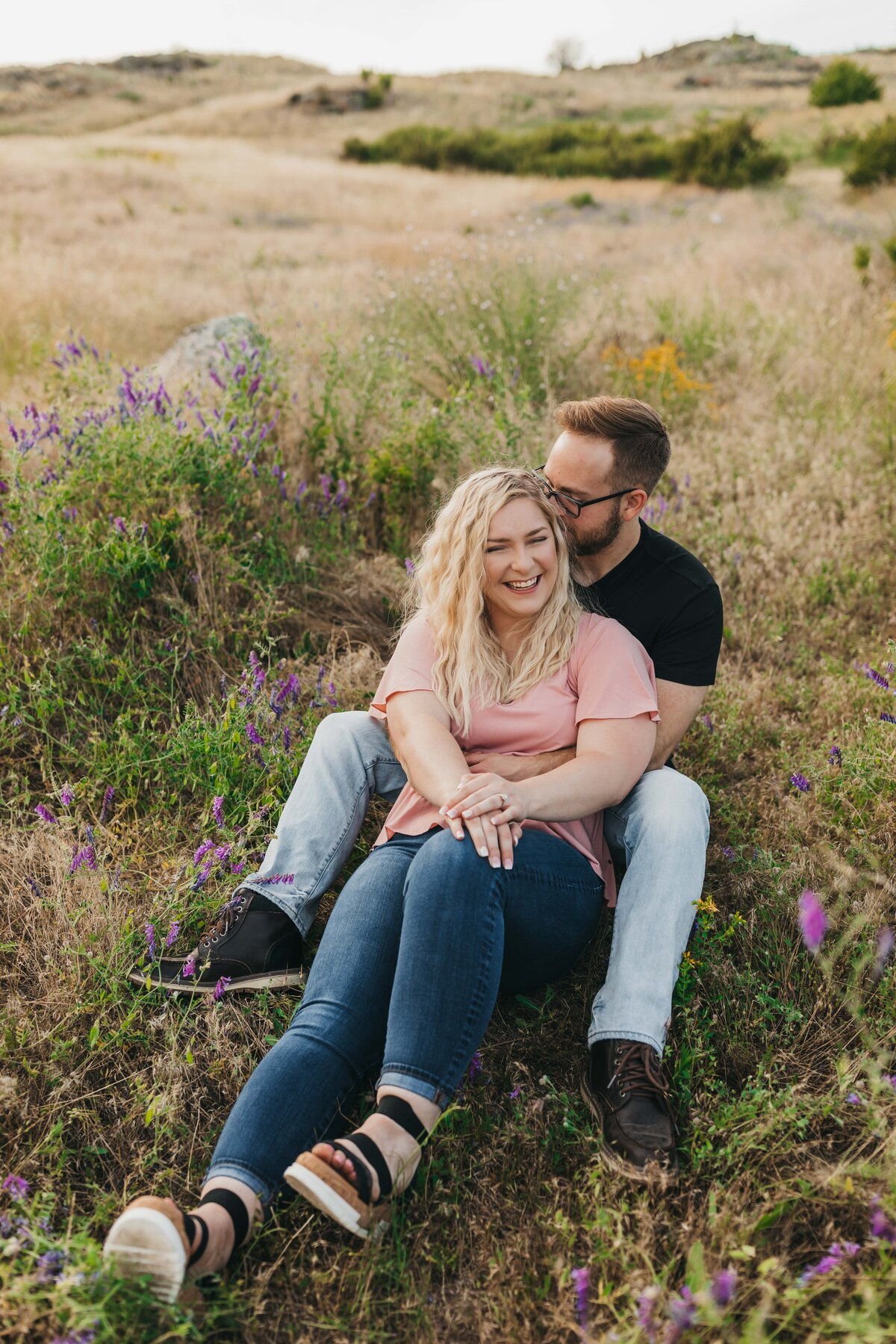 Engagement Session in Spokane Washington, Best Photographer - Clara Jay Photo