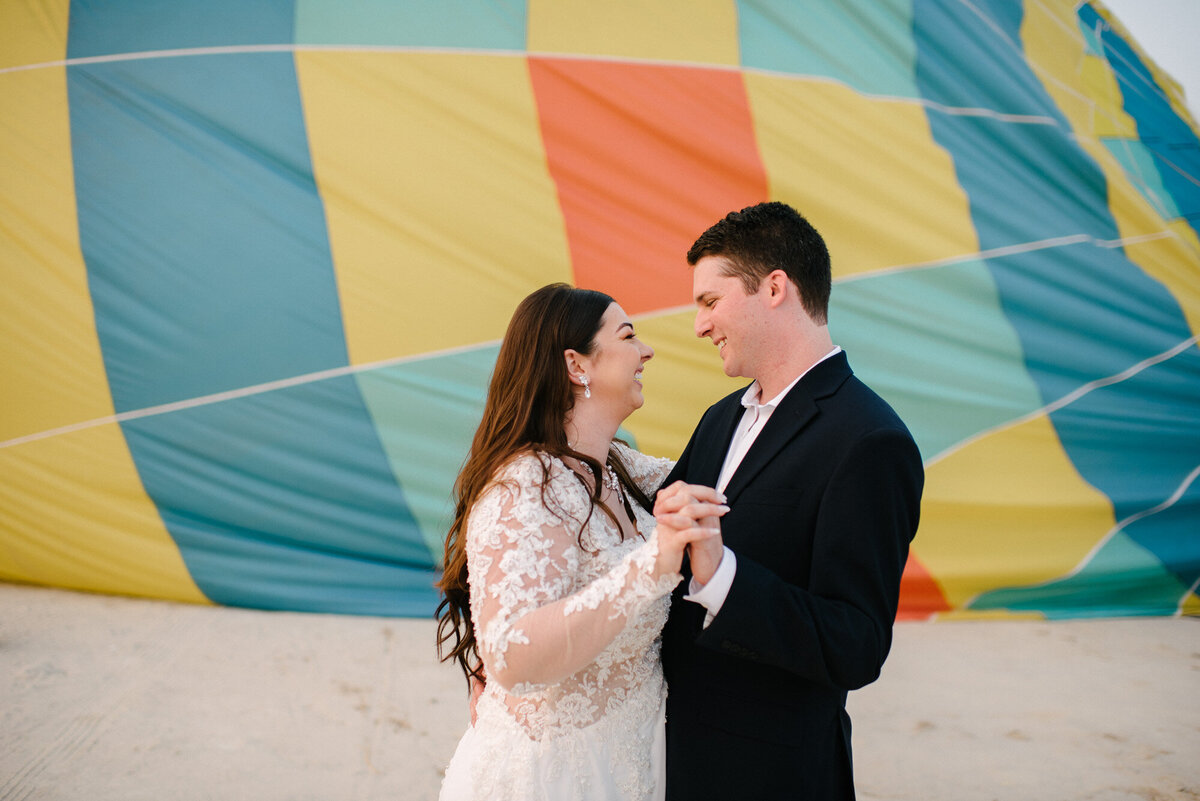 Hot Air Balloon Elopement Marie Monforte Photography-204