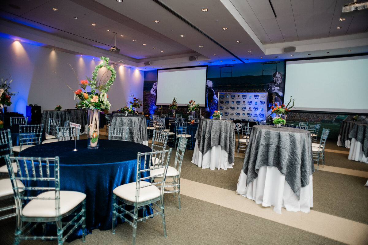 Columbus Event Planner designed a lovely non-profit event for the canton ballet