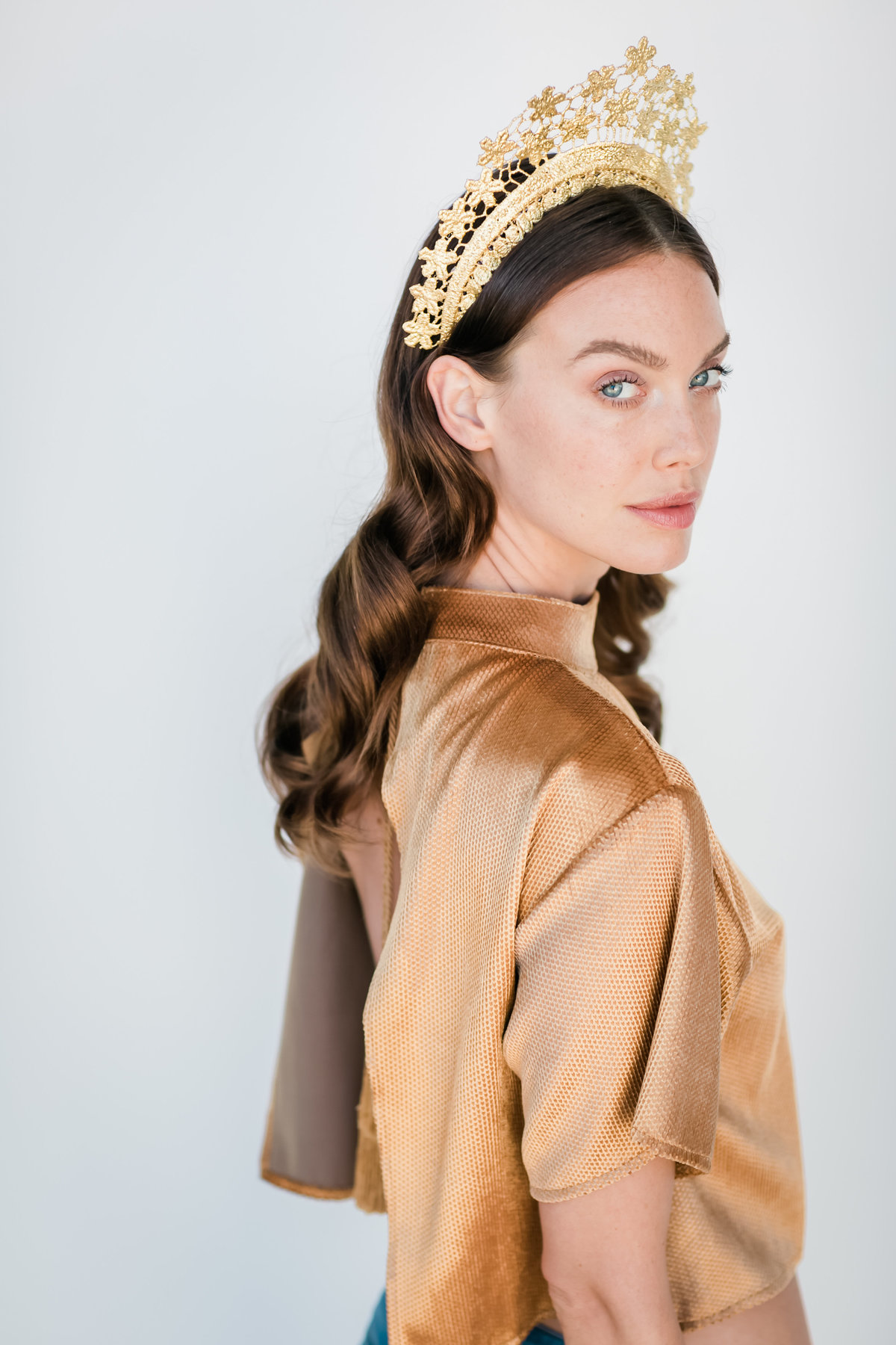 Bridal Crown Editorial Shoot Trace Henningsen Accessories_Valorie Darling Photography-7986