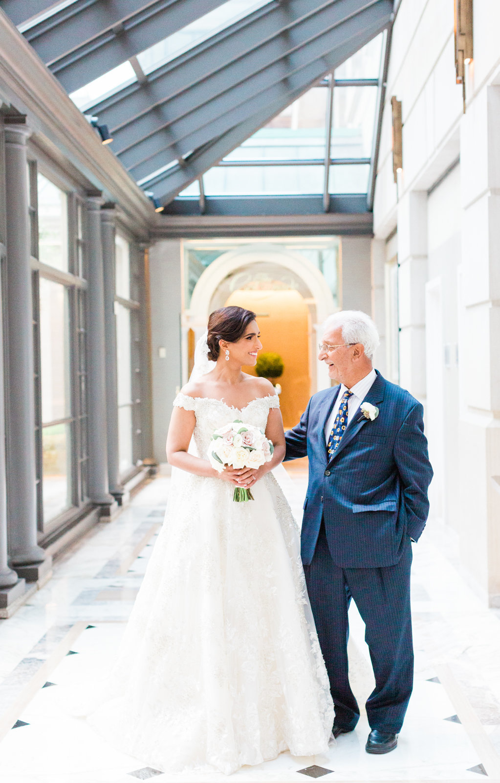 Fairmont Hotel Washington DC wedding photography