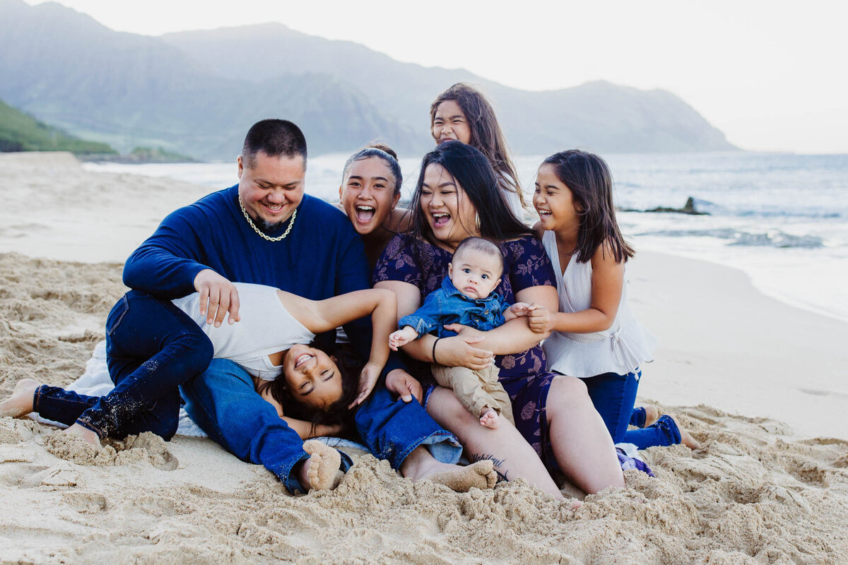 Oahu Family Photographer | Iwalani Photography | Yokohama Bay