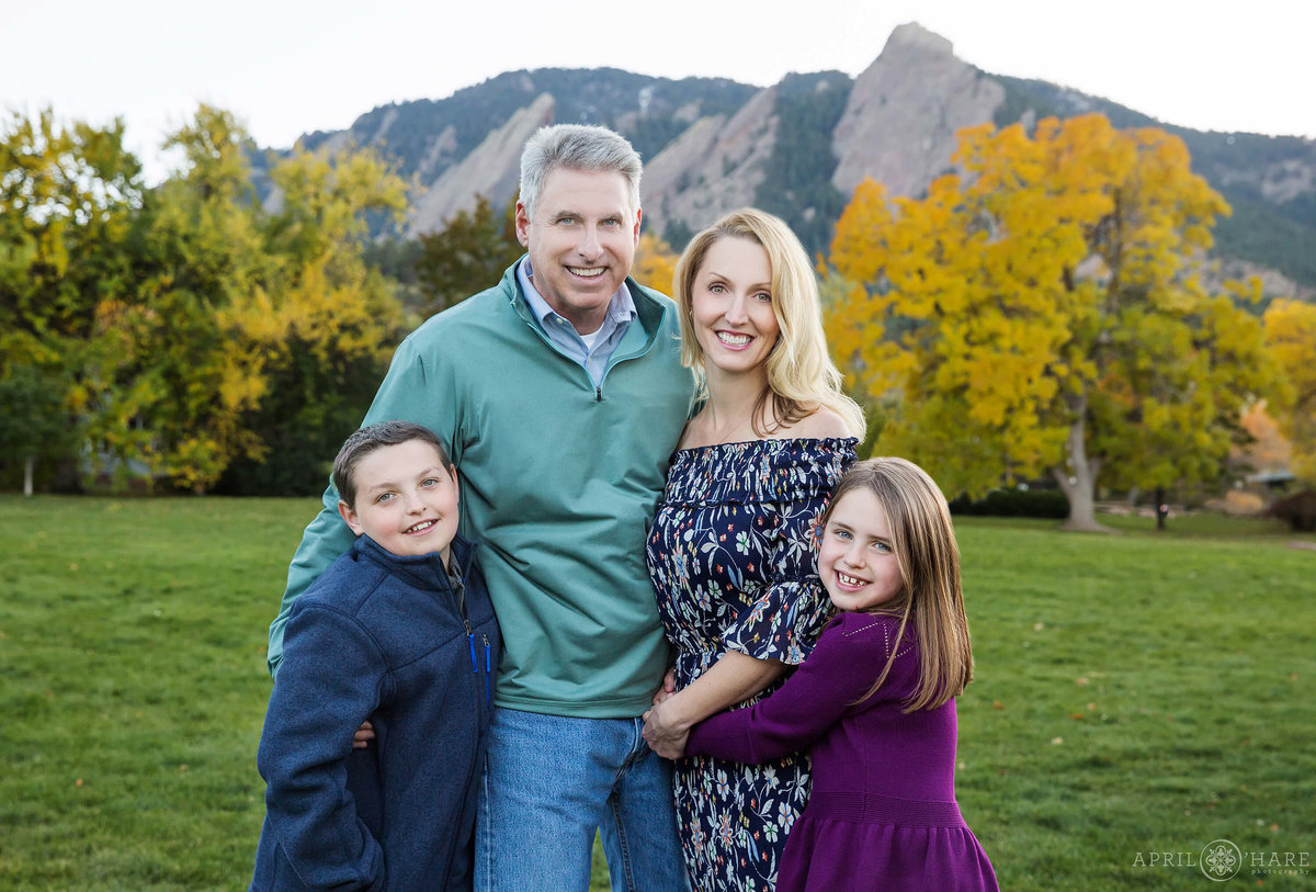 Chautauqua Park Boulder Colorado Family Photos
