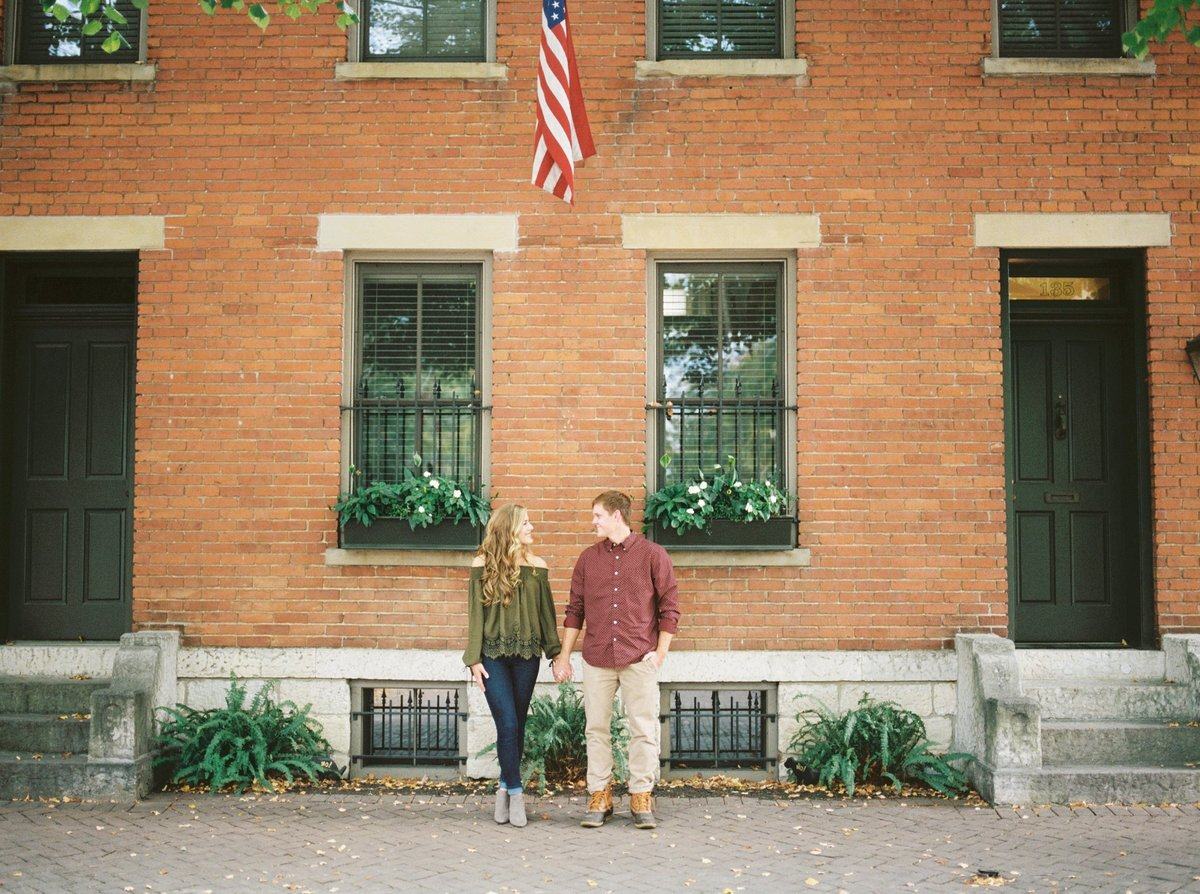 Columbus Ohio Engagement, Fine Art Film