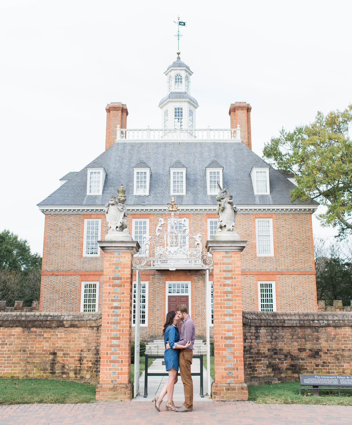 Williamsburg Virginia engagement photographer