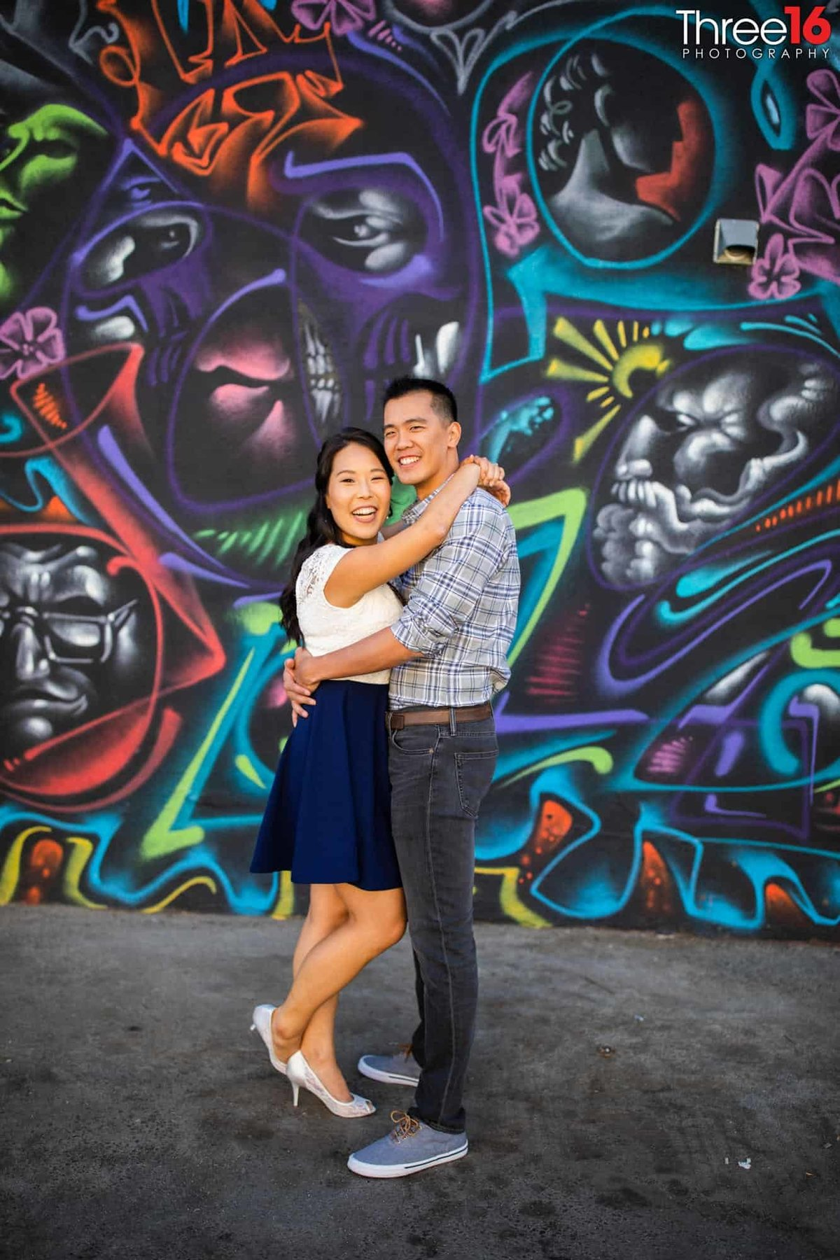 Arts District Engagement Photos Los Angeles County Wedding Professional Photography