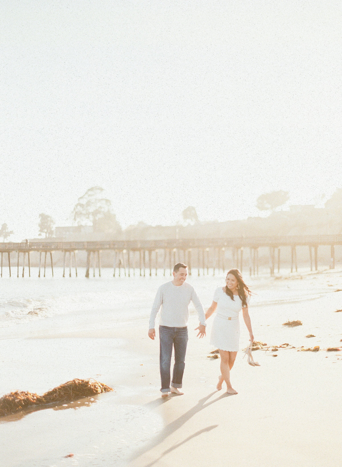 Engagement Photography Santa Cruz Capitola Beach