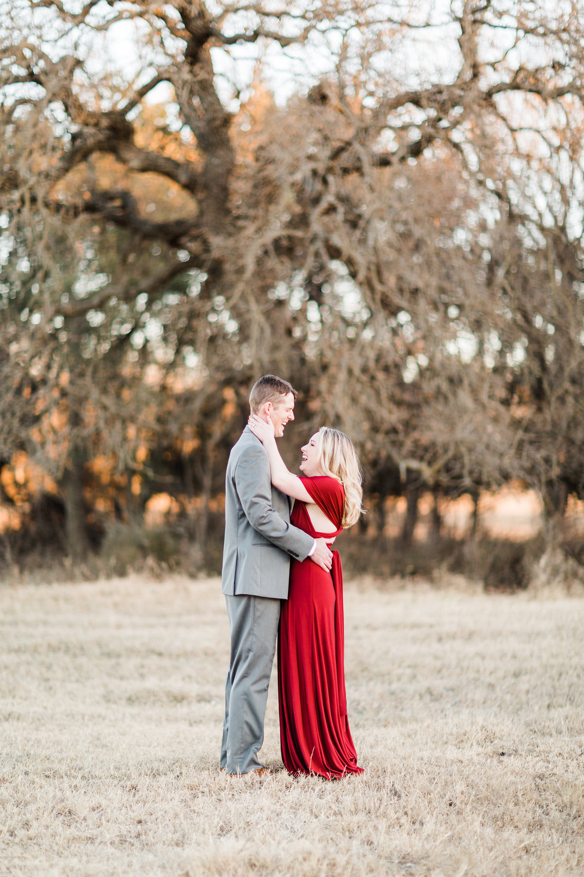 Morelock Ranch Brownwood Texas Engagement Photos