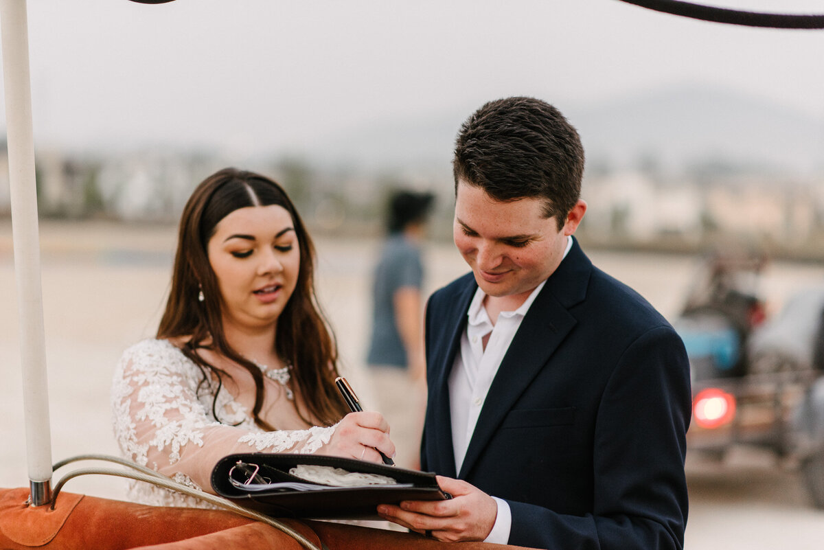 Hot Air Balloon Elopement Marie Monforte Photography-221