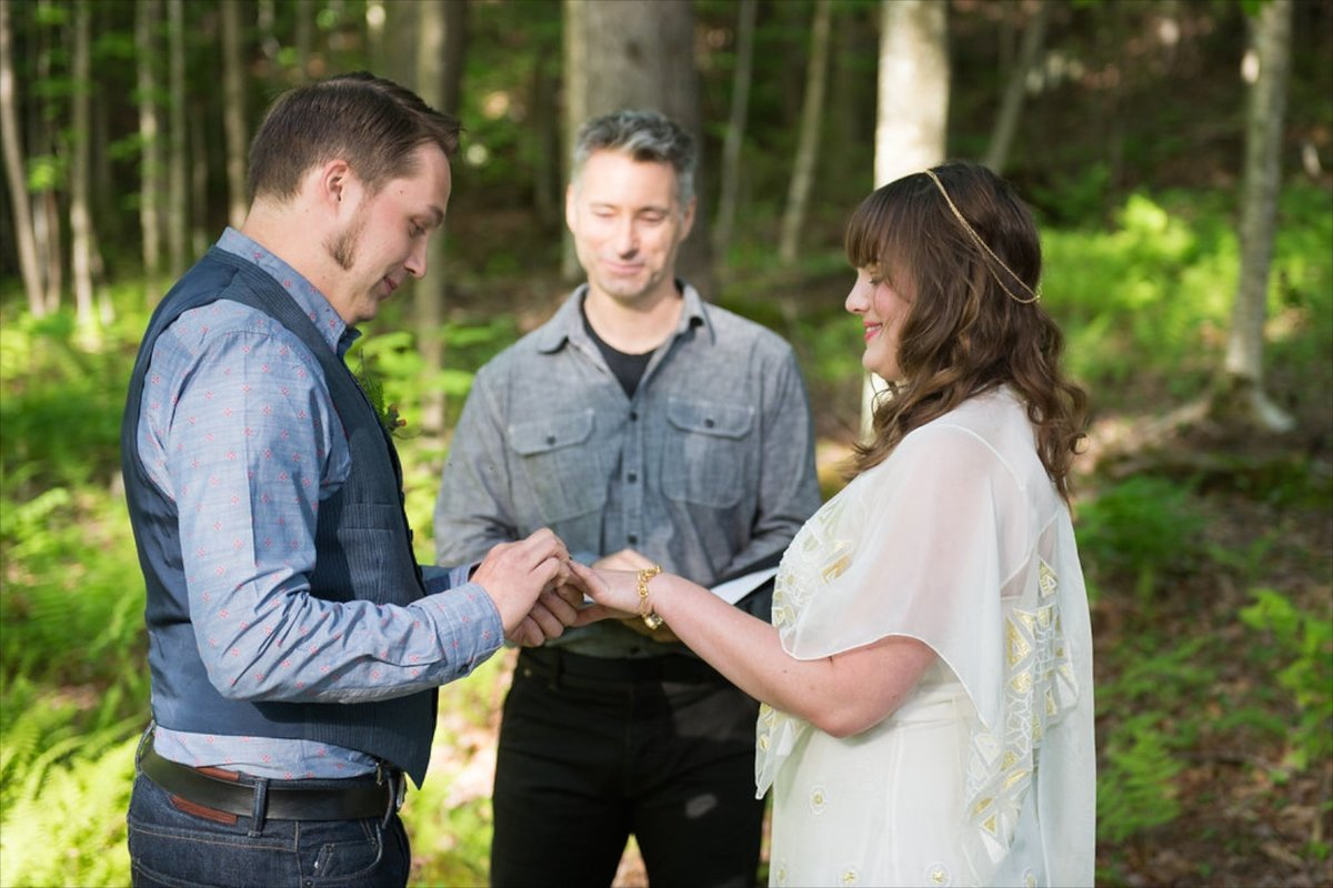 offbeat VT wedding officiant who will personalize your elopement ceremony