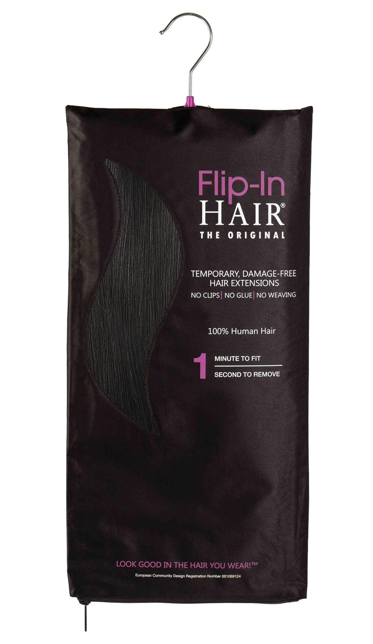 Flip-In Hair Original 1B