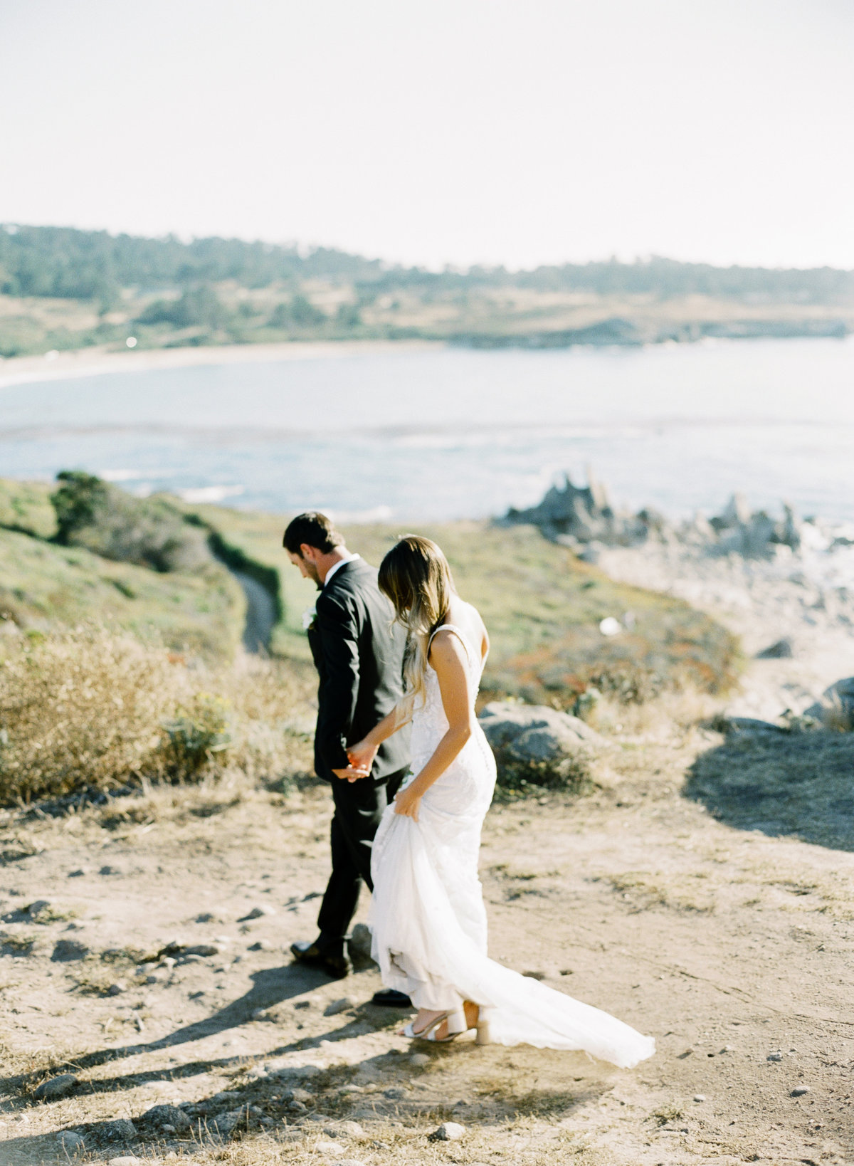 Couple elopes in Big Sur