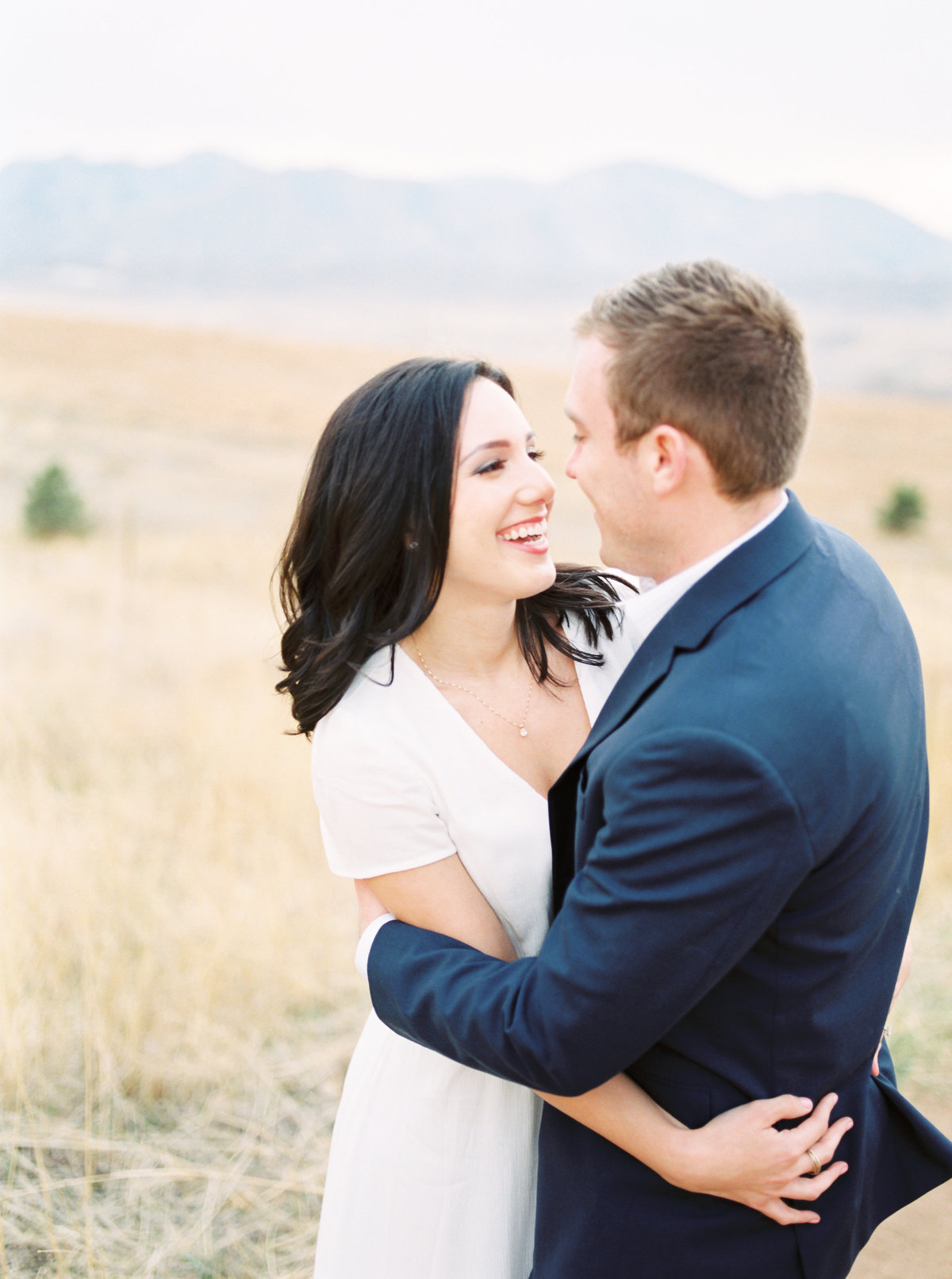 Colorado Mountain Engagement Photography