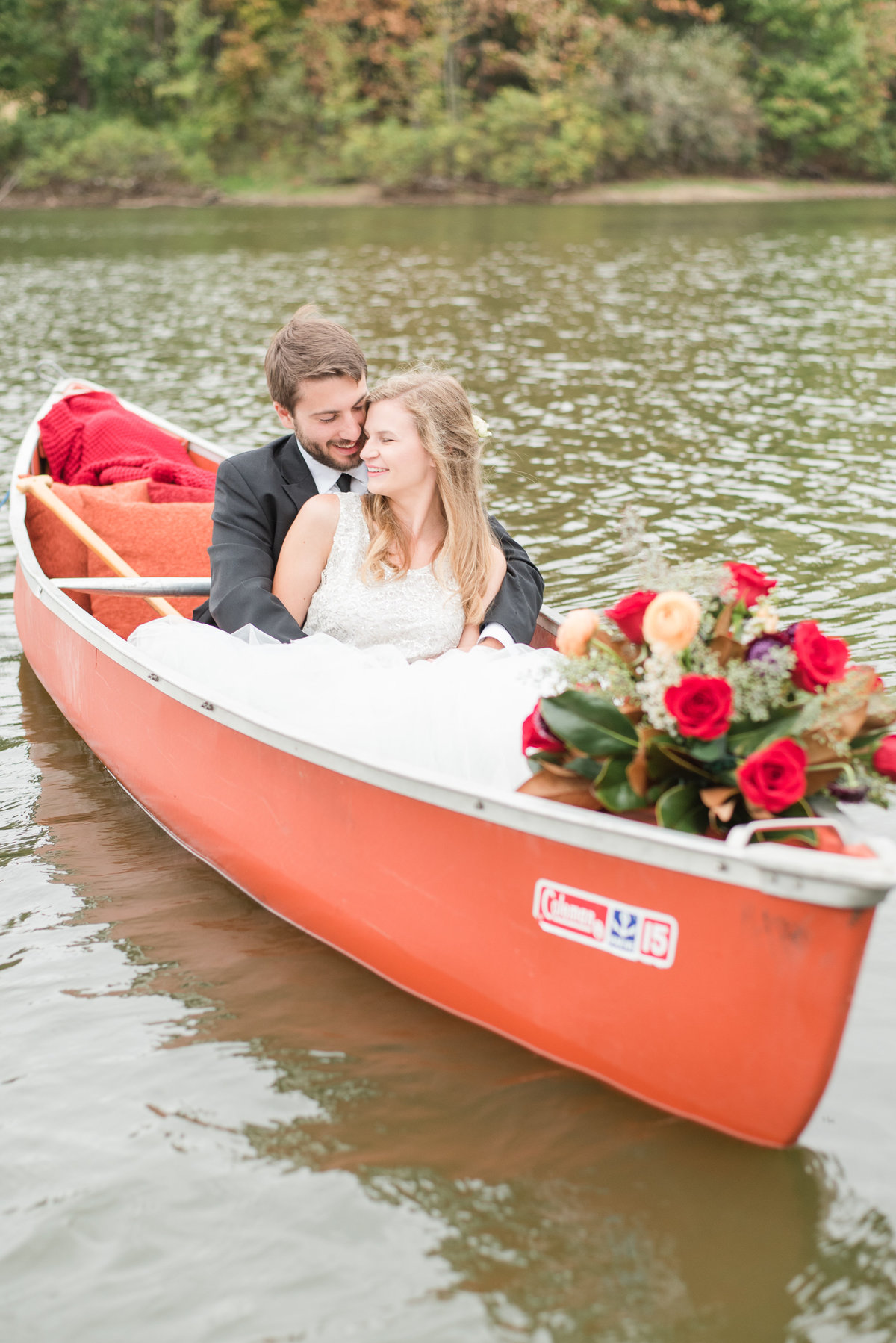 Canoe Adventure Wedding-10