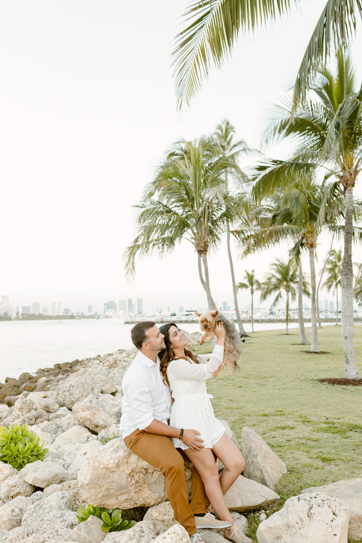 South Pointe Park Engagement Photography Session 5