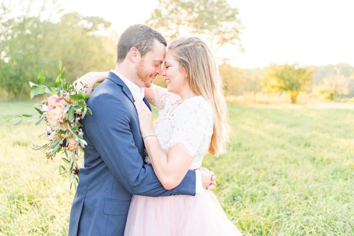 Cait Potter Creative LLC Open Field Rolling Greens Indianapolis Summer Engagement Photos-7