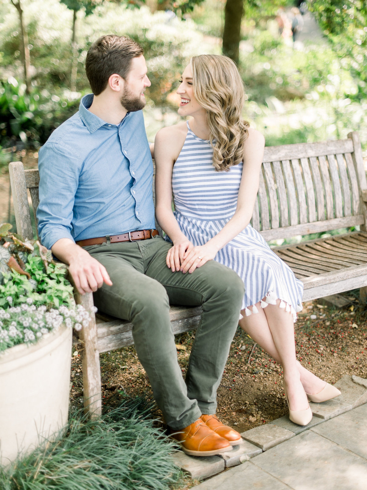 Courtney Hanson Photography - Dallas Spring Engagement Photos at Dallas Arboretum-2613