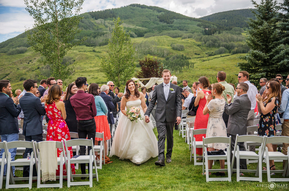 Crested Butte Wedding  Photography in Colorado at Mountain Wedding Garden