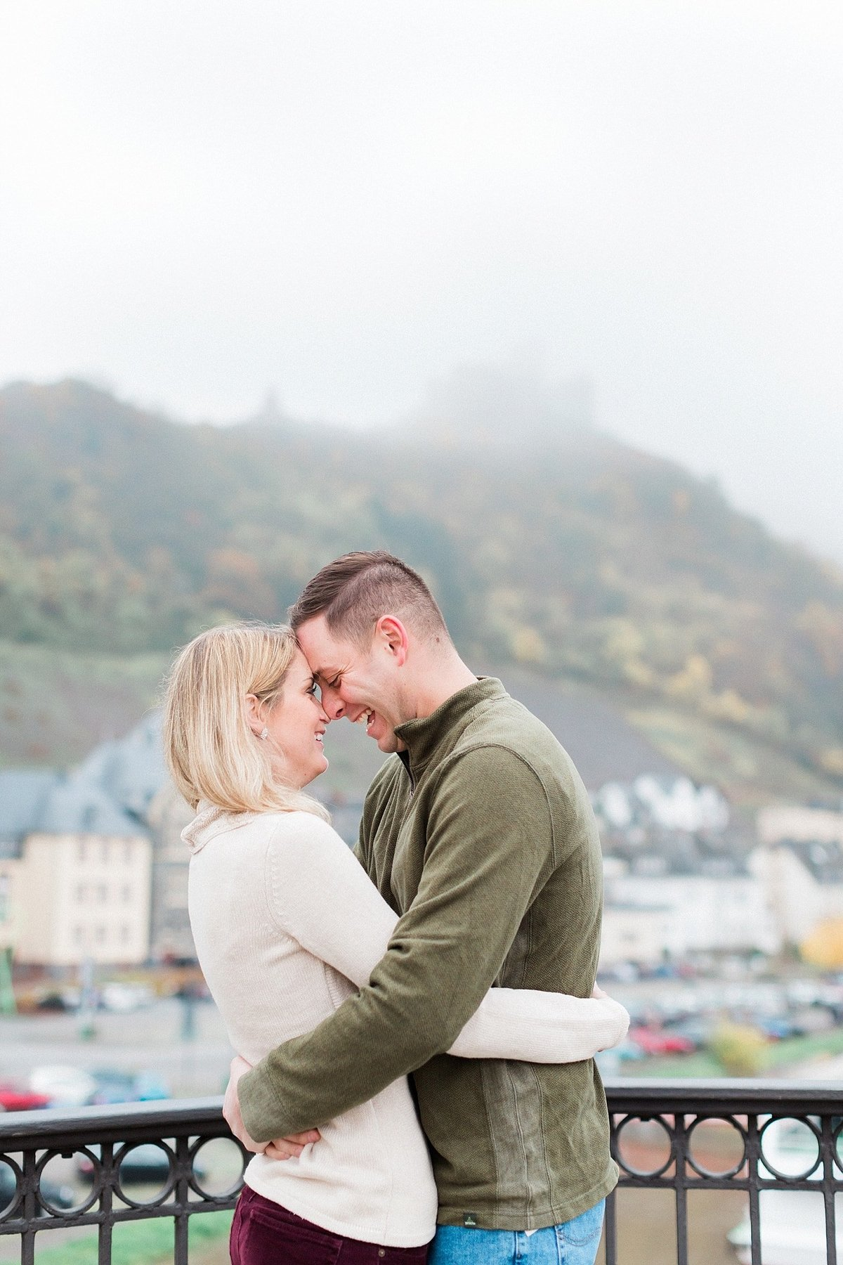 Germany vineyard engagement session photographed by destination photographer Alicia Yarrish