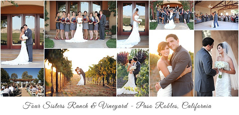 Paso Robles Four Sisters Wedding Photos
