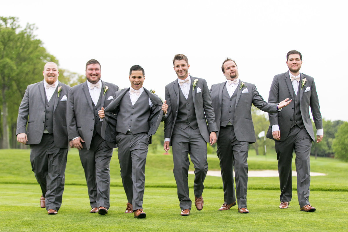 Groomsmen Baltimore Wedding Hillendale Country Club