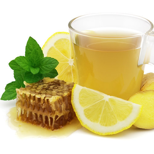 lemon honey ginger