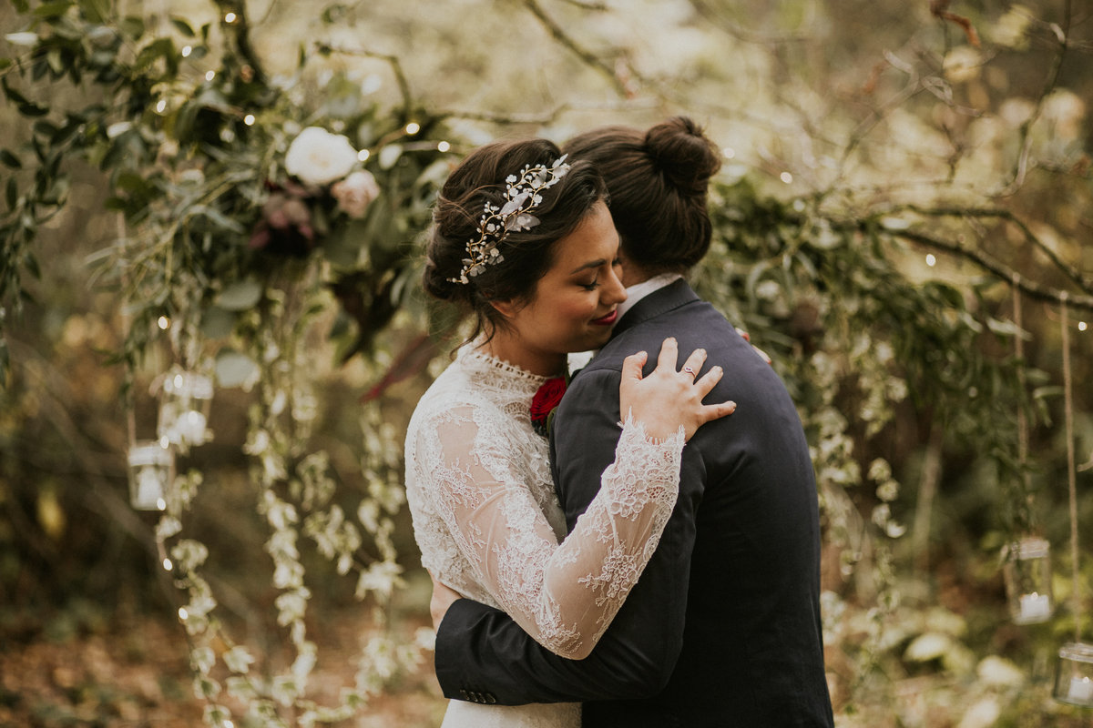 The Stars Inside - Forest Elopement - Nataly J Photography (15)