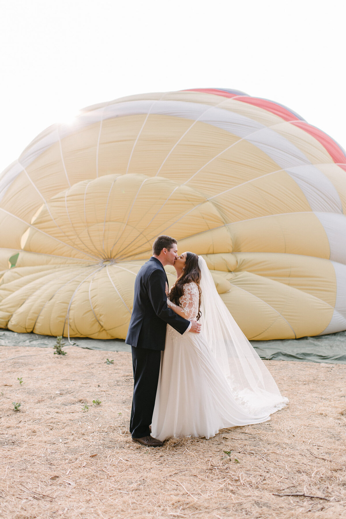 Hot Air Balloon Elopement Marie Monforte Photography-95