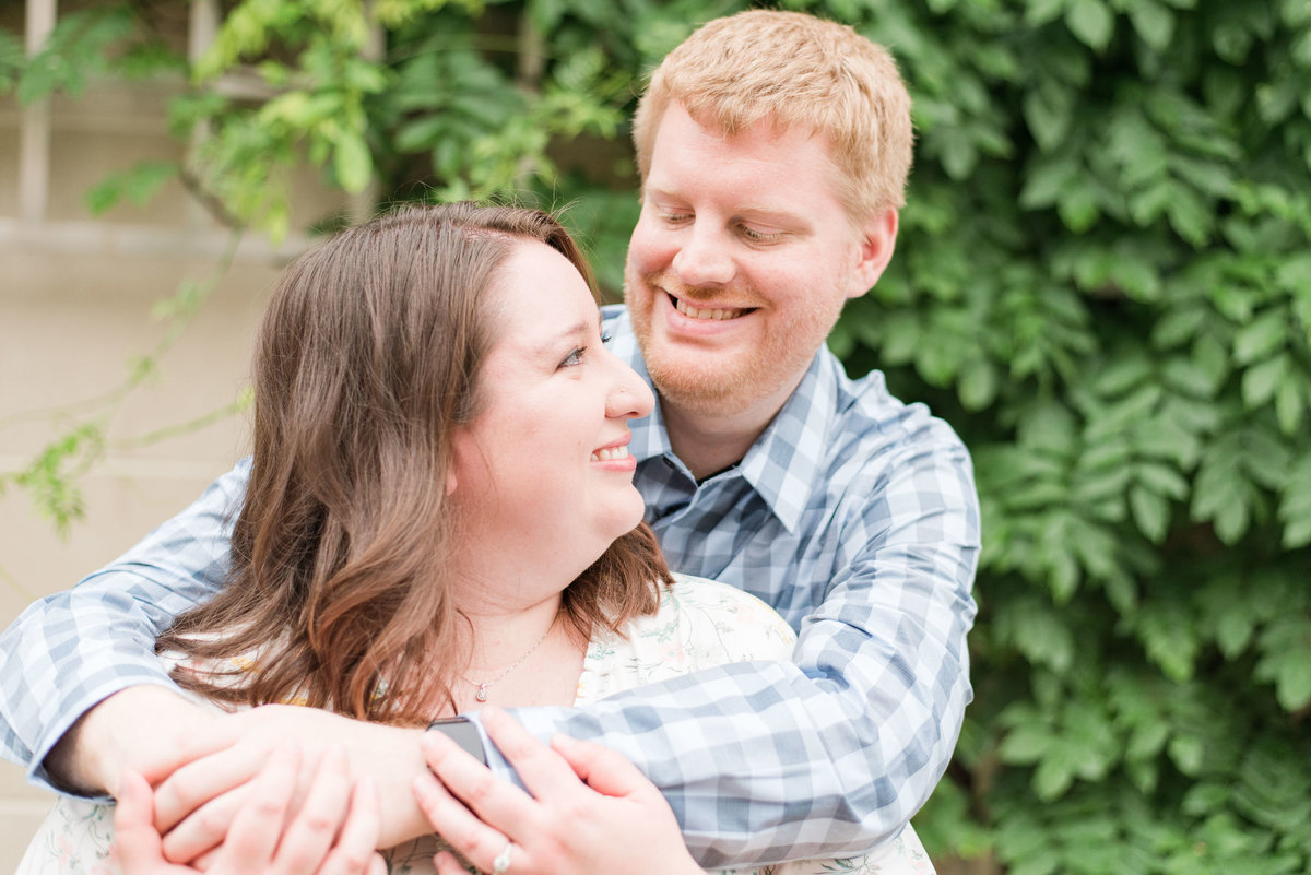 Cait Potter Creative LLC Canal Indianapolis White River State Park Spring Engagement Photos-4