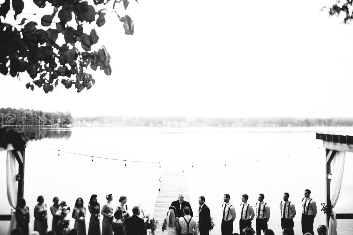 Wedding at Celebrations on the Reservoir with Virginia wedding planner For Love of Love