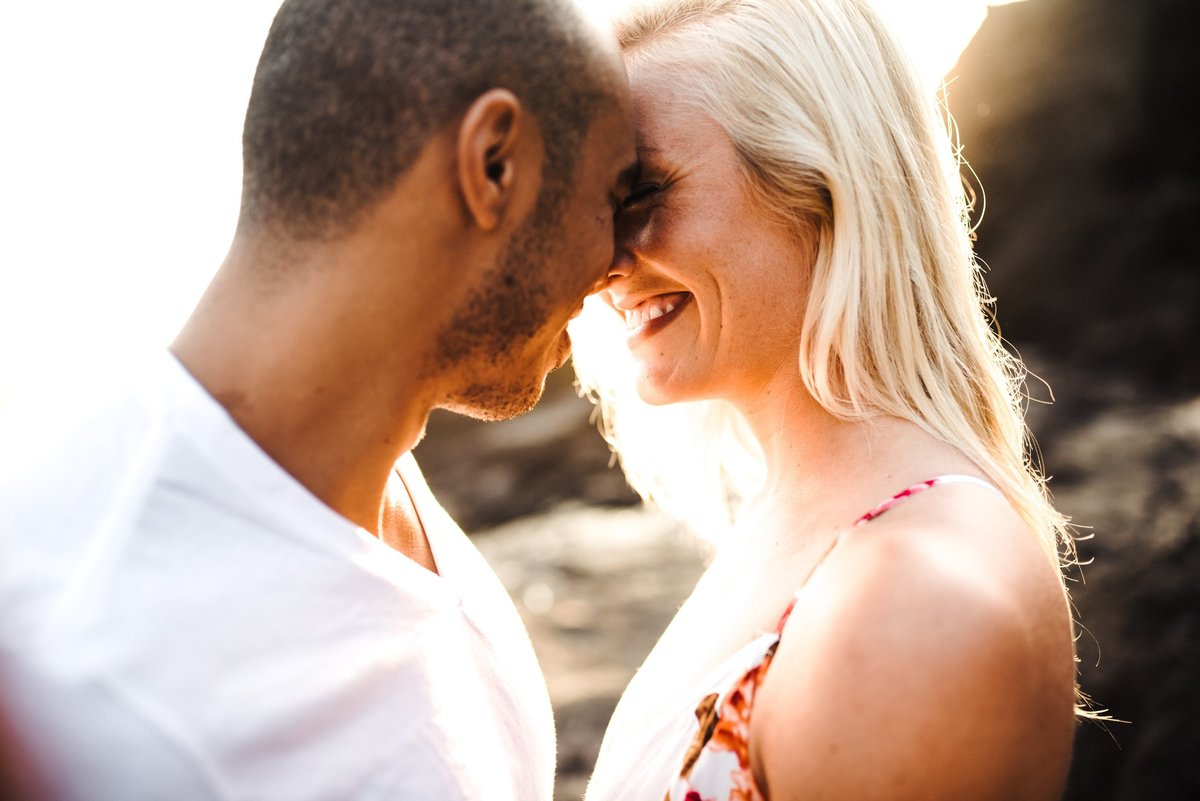 Eternity Beach Honolulu Hawaii Destination Engagement Session - 15