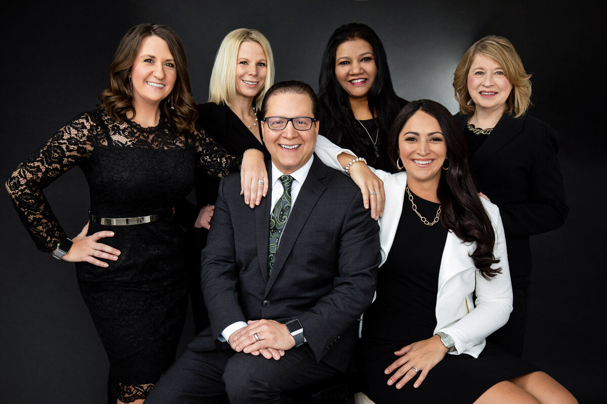 Professional business headshot of group of employees in Buffalo, New York