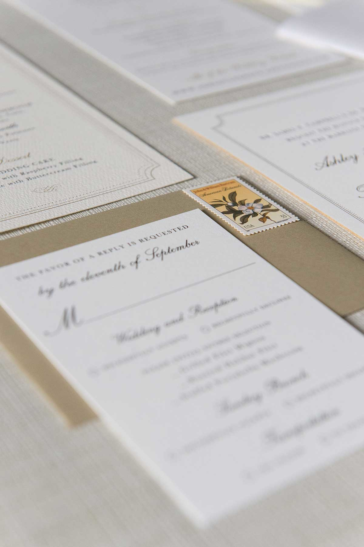 Ashley-DetailCard-Letterpress-WaxSeal-ElkridgeClub