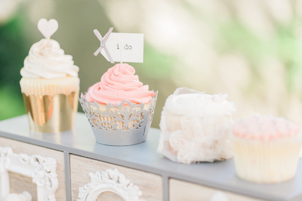 Wedding Desserts Bridal Cupcakes