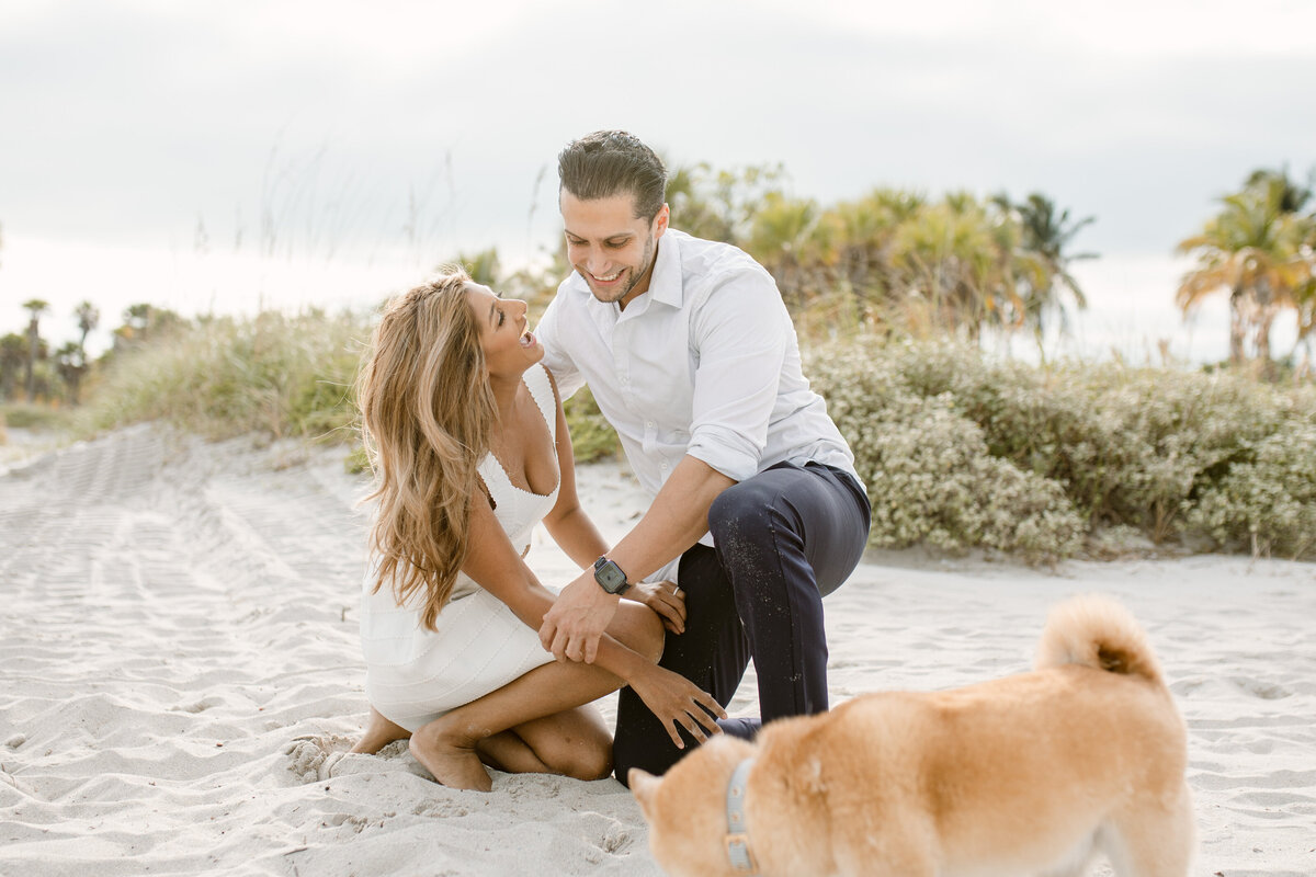 Crandon Beach Engagement Photography Session 12