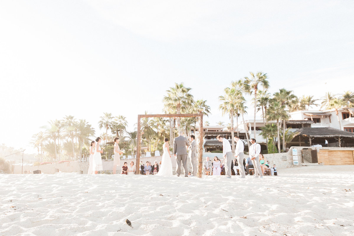 Mexico Beach Wedding Ceremony