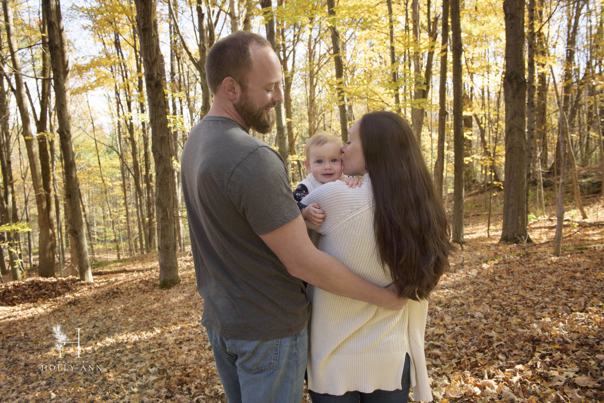 fall outdoor family portrait session cambridge ny
