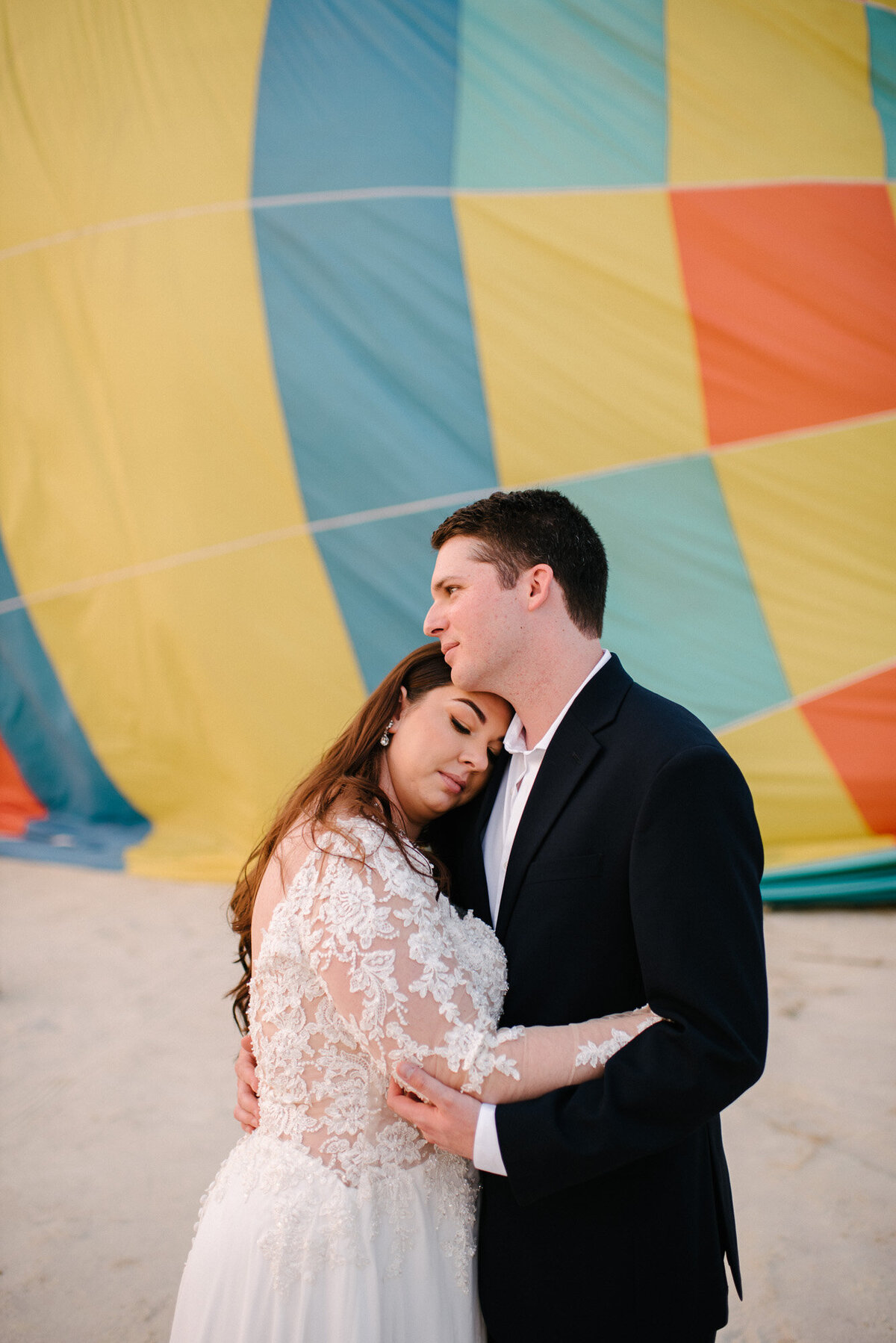 Hot Air Balloon Elopement Marie Monforte Photography-203