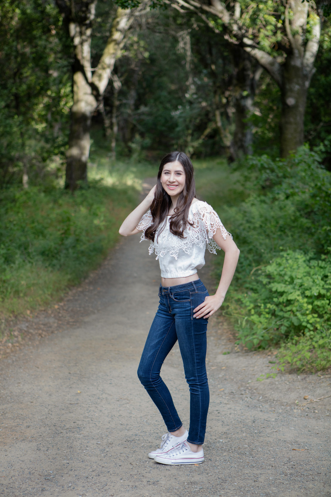 Senior Girl Portrait Photography Bay Area