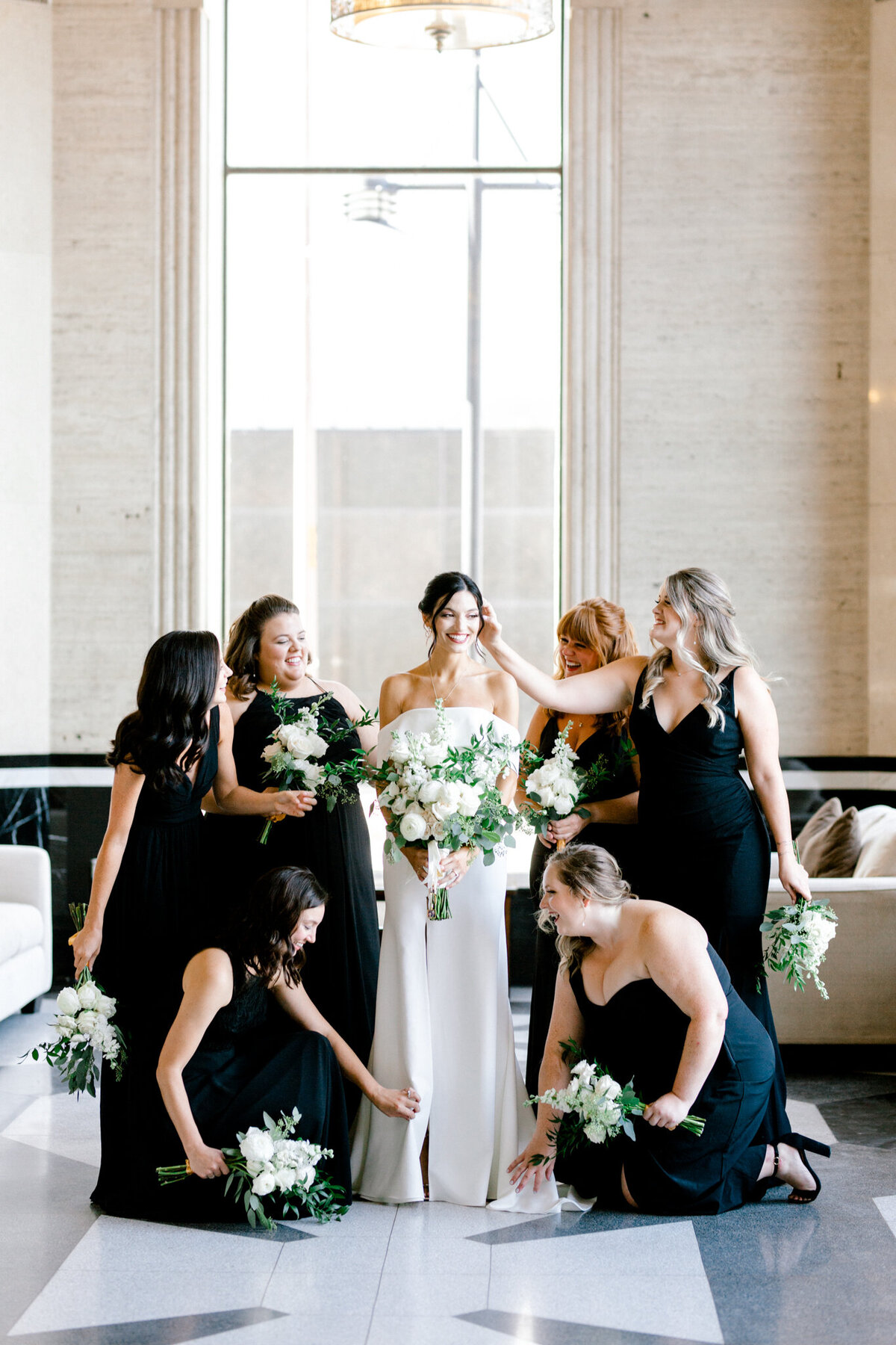 Hope & Zack's Wedding at the Carlisle Room | Dallas Wedding Photographer | Sami Kathryn Photography-35