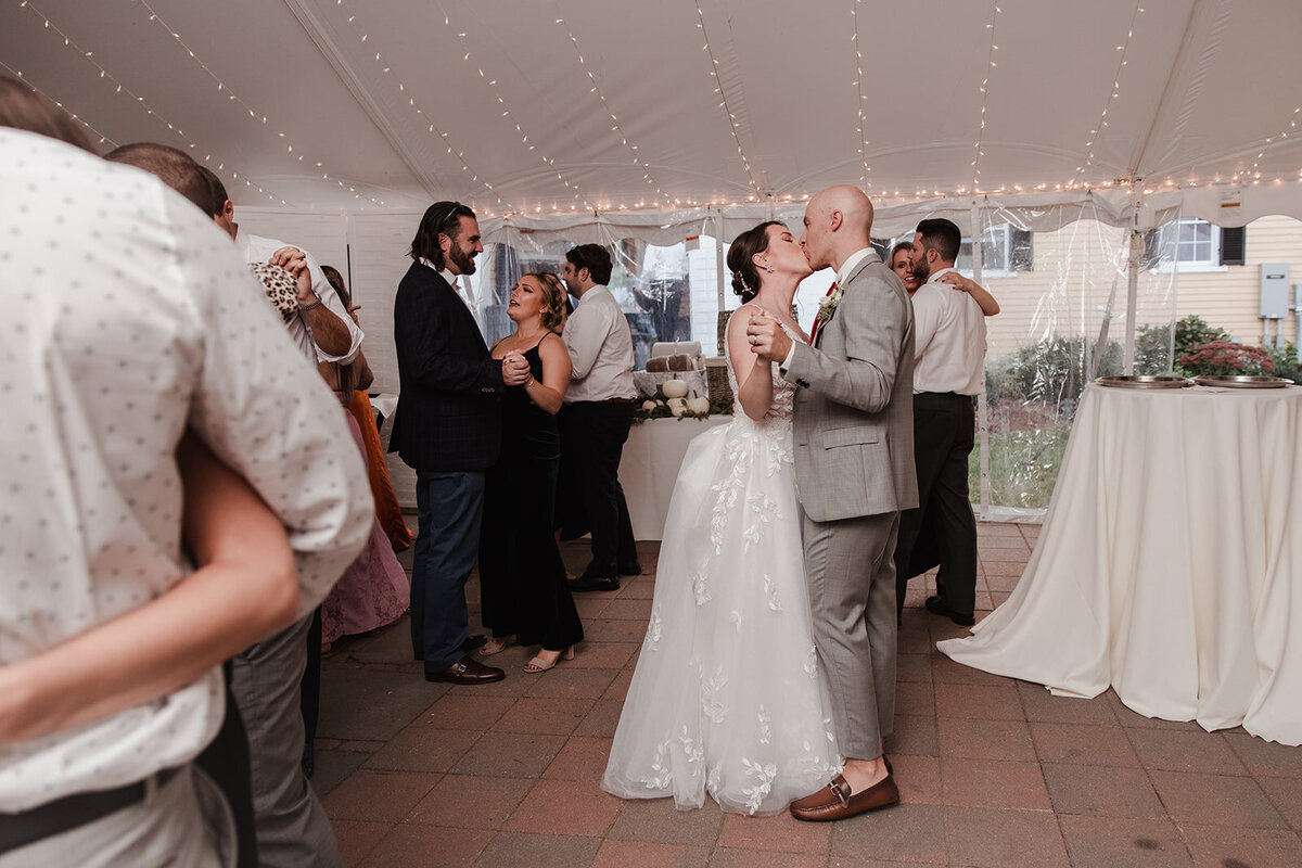 Guests Join as the couple have their first dance