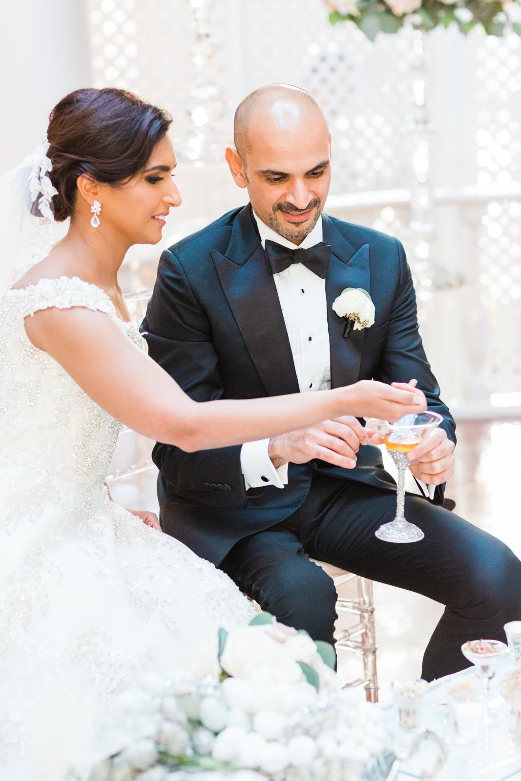 Luxury DC Persian wedding photographer