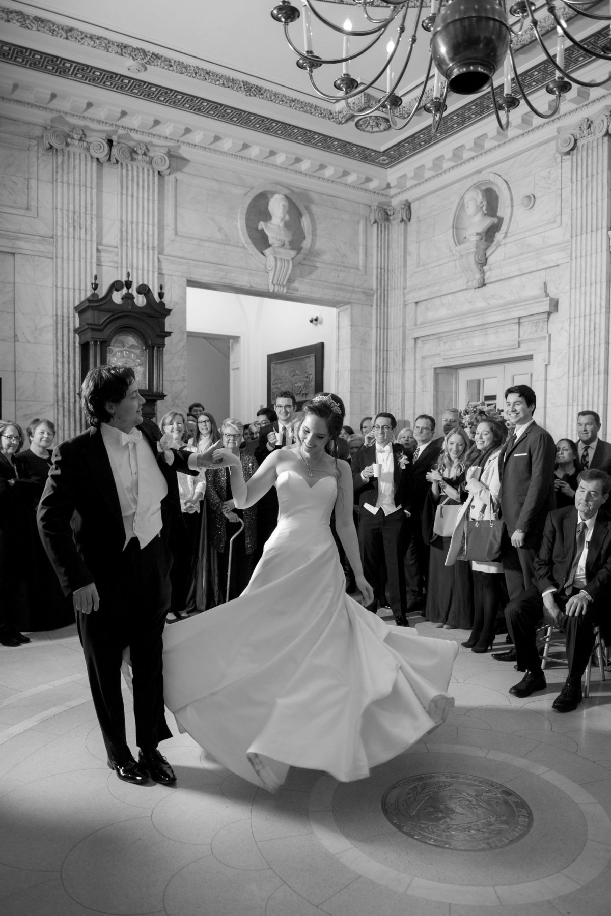 DAR Wedding by Washington DC Wedding Photographer, Erin Tetterton Photography