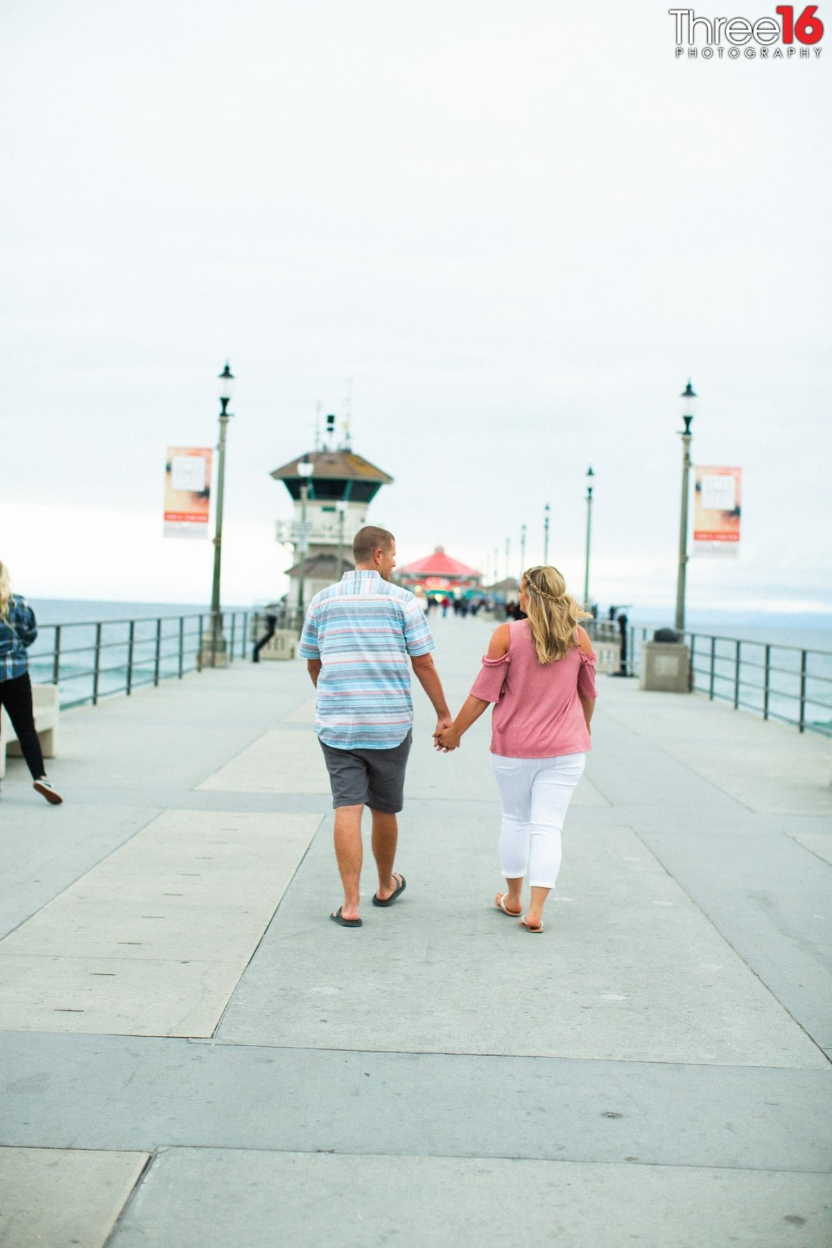 Huntington Beach Pier Engagement Session