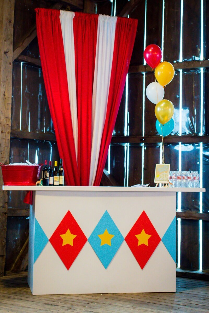Circus Themed 1st Birthday Indianapolis Party Planner_0050
