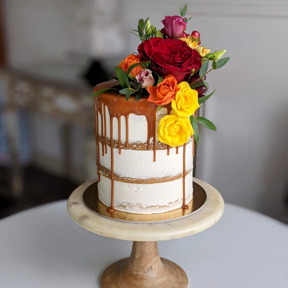 Whippt Kitchen - Thanksgiving Auction cake 3