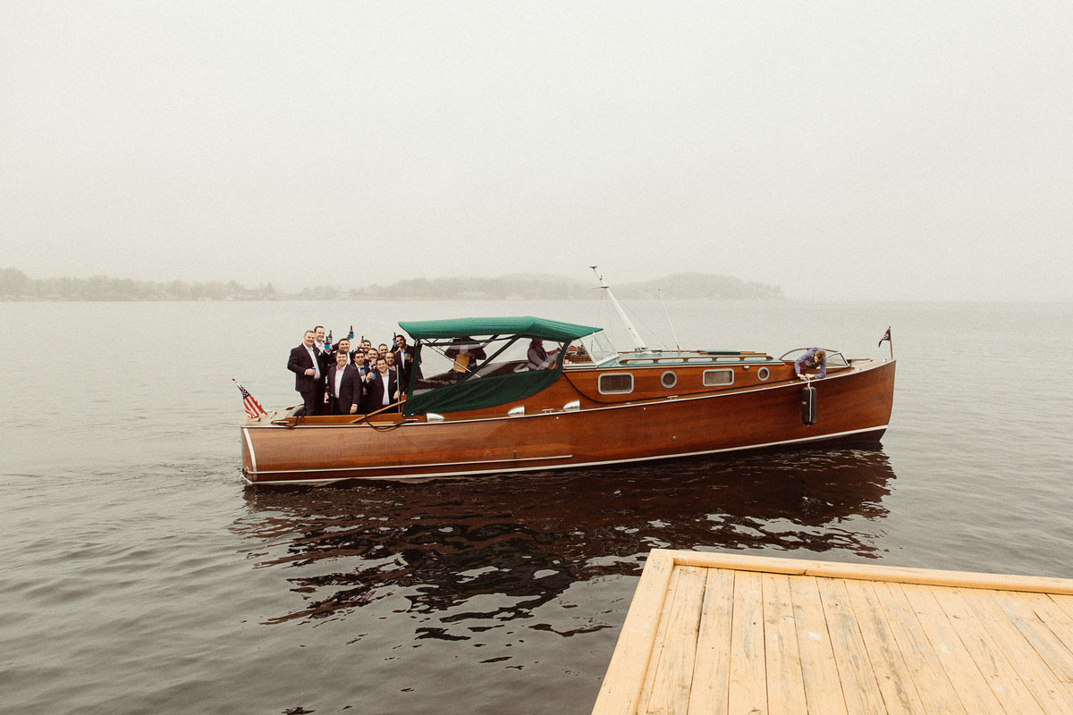 Antique Boat Museum Wedding by Bridget