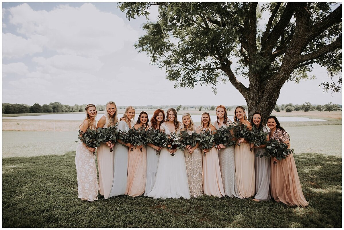 Modern Farmhouse Wedding with Organic details at Emery's Buffalo Creek - Houston Wedding Venue_0615