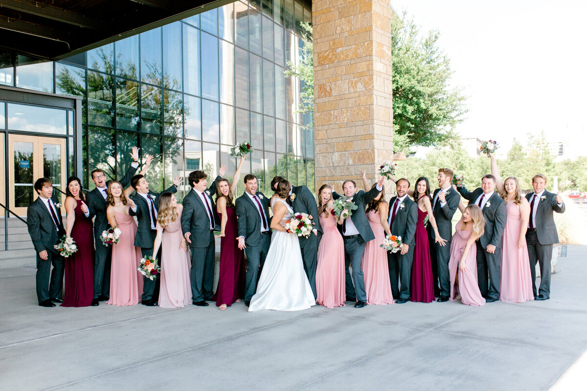 Kaylee & Michael's Wedding at Watermark Community Church | Dallas Wedding Photographer | Sami Kathryn Photography-91