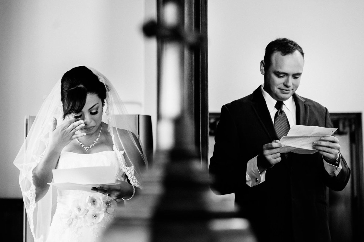 bride and groom crying wedding at spencer theater in ruidoso by stephane lemaire photography